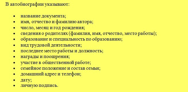 структура написания